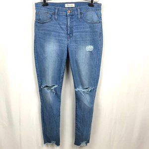 Madewell The High Rise Skinny Jeans Blue Size 29